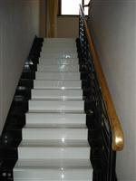 crystallized glass stair