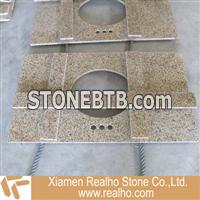 chrysanthemum yellow granite Vanities