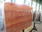 Red Soraya Travertine Slabs