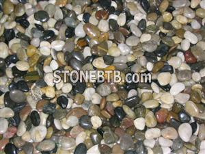 Mixed Color Polished Pebbles