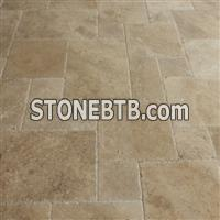 Meandros Walnut Antique Pattern Brushed, Chiseled
