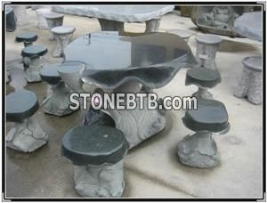 Stone Table and Chairs