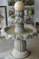 Sell Chinese Stone Fountain Ball With Three Tiers