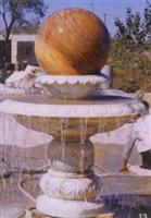 Two-tiers Marble Fountain Ball