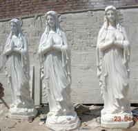 White Marble Holy Mother Statue,Carving,Sculpture