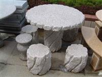 Granite Table Chair Marble