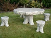 Granite And Marble Chair & Table