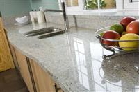 Granite/Marble Kitchen Countertop (Kashmir White)