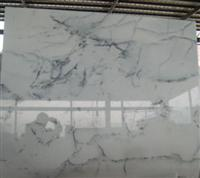 Marble Crystal White (landscape lines)