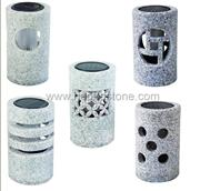 Granite marble, natural stone solar lanterns