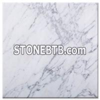 Polished black granite tiles