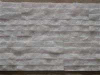 Crystal white marble Ledge Stone