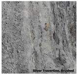 Silver Travertine Tile