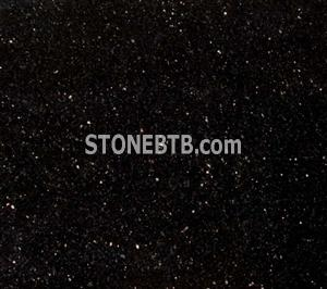 Black Galaxy Granite for Small Points