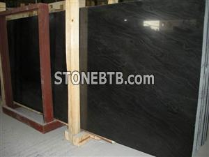 YFM Ebony Cloud Pattern Slab