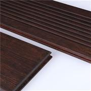 DassoXTR outdoor decking, smooth & wave surface, reversible, with T&G at ends BSWO-S W20