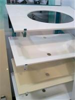 Crystallized Glass Stone Vanities