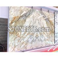 Imported Calacatta Gold Marble Tiles for Floor Slab/Kitchen Countertops Slab30