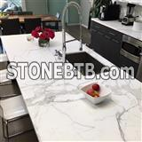 Pre Cut Commercial Integrated Popular Color Quartz Countertop In Polished99