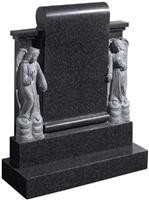 Gray Granite Monument