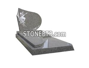 Chinese Granite Tombstone