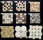 Stone Mix Glass, Stainless Steel, Cooper, Ceramic, Slate Mosaic