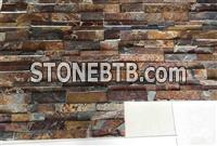 Popular Wholesale Natural Slate Stacked Cultured Stone For Exterior