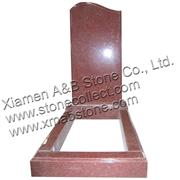 Jhansi Red (India Red) Russian style granite tomb