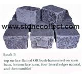 Black Basalt Tumbled Paving Stone
