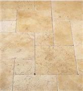 Classic Ivory Travertine French Pattern