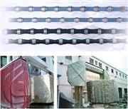 Diamond Wire Saw for Mining, Block Squaring, Profiling, Granite, Marble, Concrete