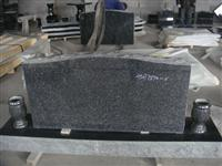Green Beida Granite Tombstone