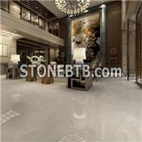 Foshan Hot Sale Onyx Look Inkjet White Porcelain Floor Tiles For Living Room