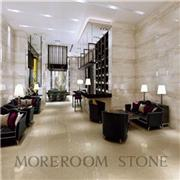 White Marble Grain Vein Look Inkjet Modern Wall & Floor Porcelain Tiles For Living Room Design