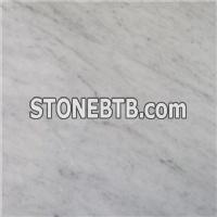 Bianco Carrara Marble White Marble Bathroom Floor Tiles, Slabs, Sinks