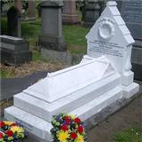 European White Marble Dead Tombstone Designs