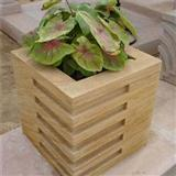 Cheap Yellow Sandstone Garden Flower Pot For Outside