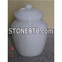 Cheap Large Tall White Marble Funeral Flower Vase