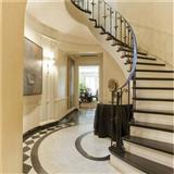 Stone Granite Marble Straight Arc Mordern Circuler Curved Round Staircase