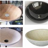 Nature Stone Single Double Undermount Bathroom Vessel Kitchen Wash Basin Sink