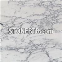 Italy Arabescato White Marble With Grey Lines Tiles Slabs