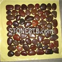 Brown Pebble Stone Mosaic