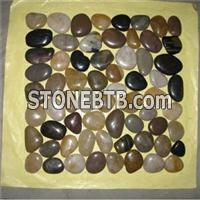 Pebble Stone Mosaic Mix Color
