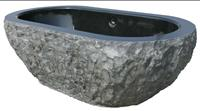Hand Carved Stone Bathtub