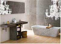 Natural Stone Carving White Rectangular Bathtub