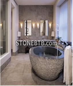 Decorative Carved Stone Whirlpools