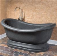 Freestanding Tubs Nature Stone Carved bath tub