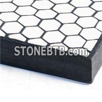 wear resistant rubber ceramic plate
