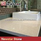 Newstar polish white quartz vanity tops with sink