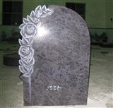 Bahama Blue granite tombstone,headstone